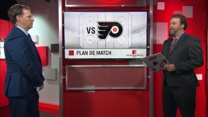 L'adversaire : Flyers-Canadiens