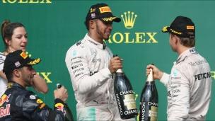 Un résultat satisfaisant pour Hamilton et Rosberg