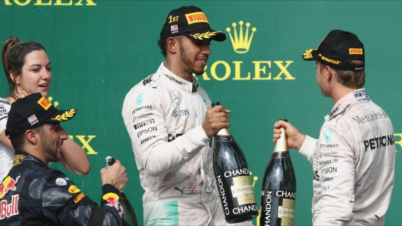 Grand Prix des États-Unis : Un résultat satisfaisant pour Lewis Hamilton et Nico Rosberg (Formule 1)