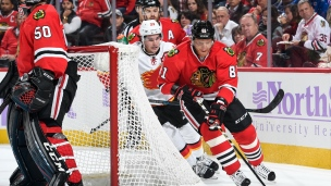 Flames 3 - Blackhawks 2 (Tirs de barrage)
