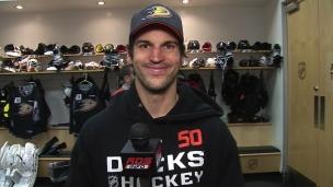 Antoine Vermette : « Je veux contribuer positivement pour les Ducks »