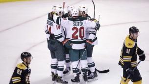 Wild 5 - Bruins 0