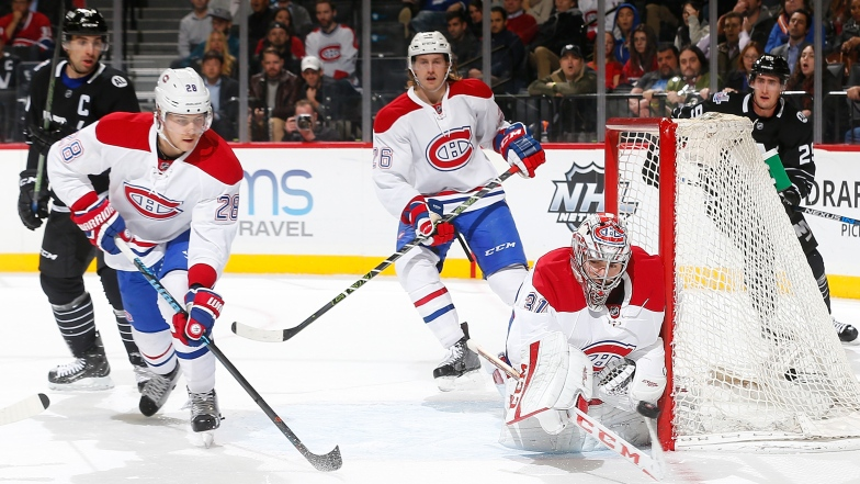 Nathan Beaulieu, Jeff Petry et Carey Price