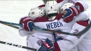 Le jeu clé du match : le plomb de Weber