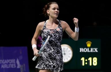WTA : Radwanska a rendez-vous avec Kerber