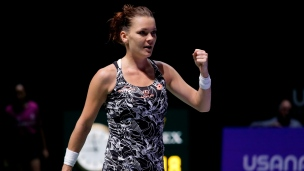 Radwanska bat Pliskova à Singapour