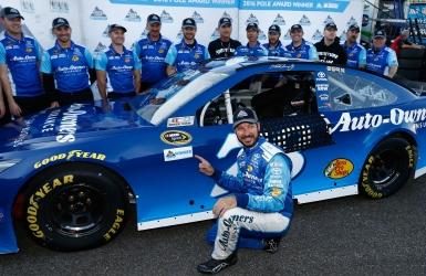 NASCAR : Truex partira premier à Martinsville