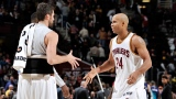Kevin Love et Richard Jefferson