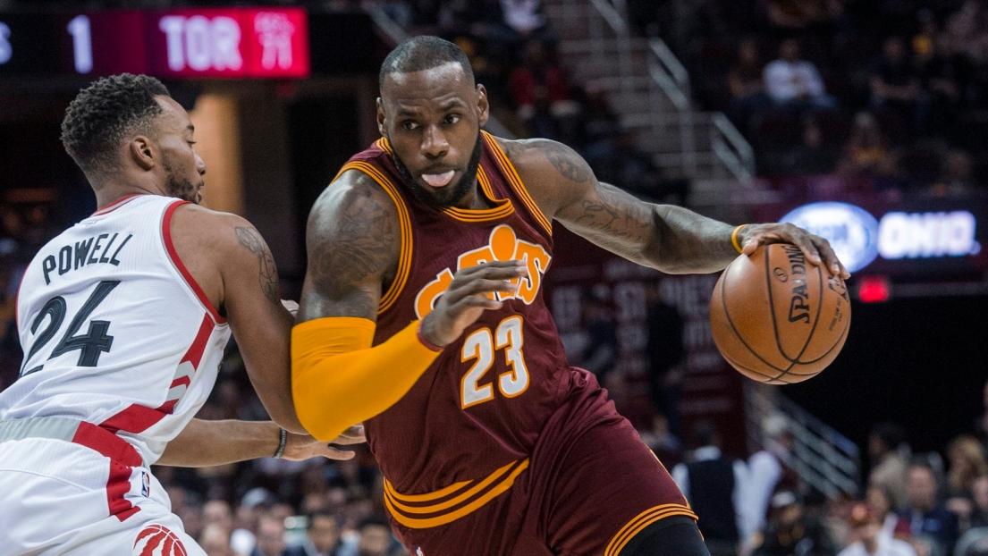 Les Raptors s'inclinent à Cleveland