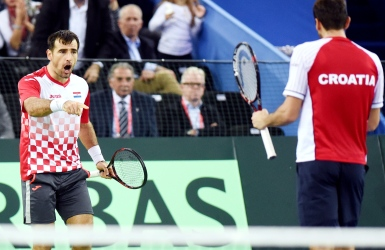Coupe Davis : la Croatie tout près du sacre