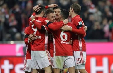 Le Bayern bat Leverkusen