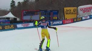 Marie-Michèle Gagnon est exclue du top 10
