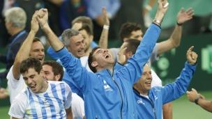 Un premier titre pour l'Argentine