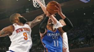 Thunder 112 - Knicks 103