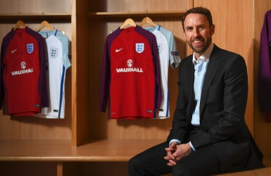 Gareth Southgate à la tête de l'Angleterre