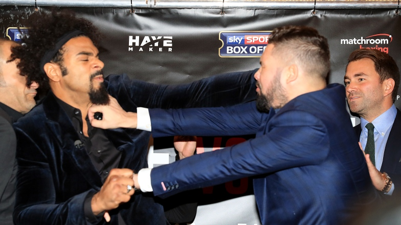 David Haye et Tony Bellew
