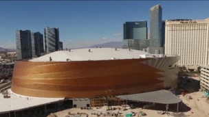Le T-Mobile Arena : un splendide arena