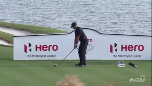 Une ronde de 73 pour le retour de Tiger Woods