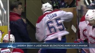 Andrew Shaw doit-il calmer ses ardeurs ?