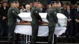 La petite ville de Chapeco a reçu samedi les dépouilles des victimes de la tragédie aérienne