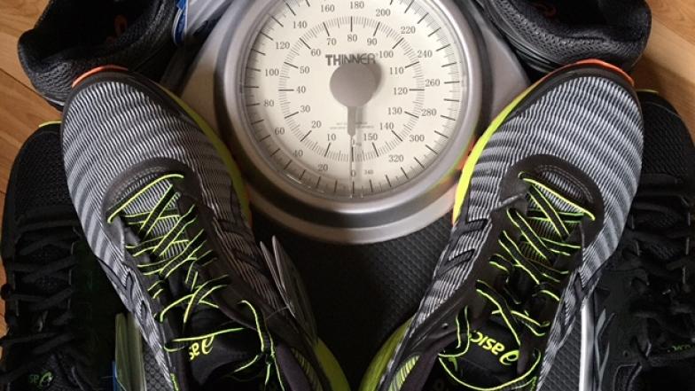Des chaussures de course