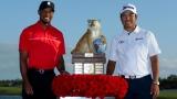 Tiger Woods et Hideki Matsuyama