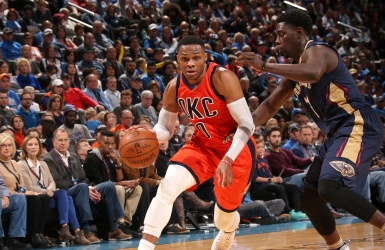 NBA : R. Westbrook performe toujours