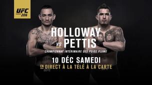 En route vers l'UFC 206 : Holloway c. Pettis