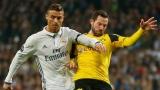 Cristiano Ronaldo et Gonzalo Castro