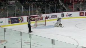 Islanders 1 - Huskies 0 (Tirs de barrage)