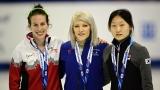 Marianne St-Gelais, Elise Christie et Min Jeong