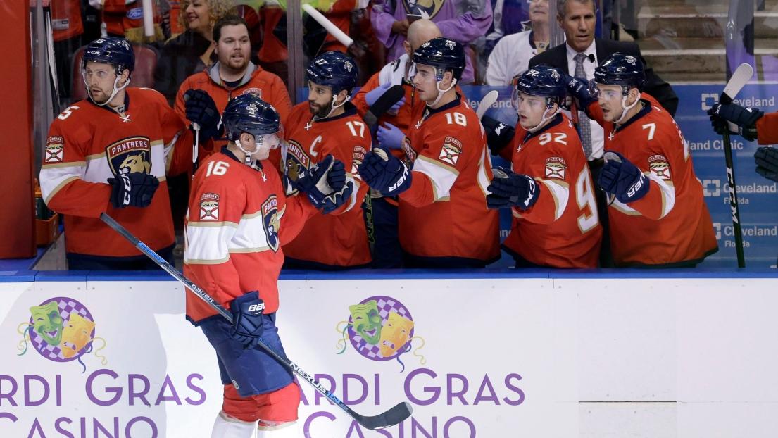 Aleksander Barkov est le nouveau capitaine des Panthers