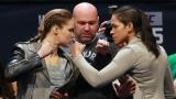 Ronda Rousey et Amanda Nunes