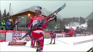 Retour sur le Tour de ski avec Alex Harvey