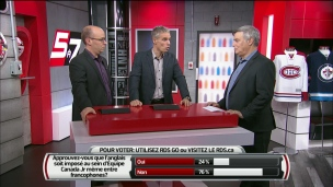 Le hockey et le français : Un vieux débat