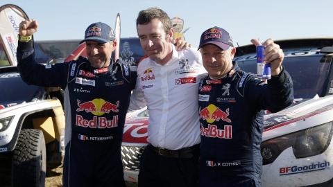 Stéphane Peterhansel remporte son 13e Dakar
