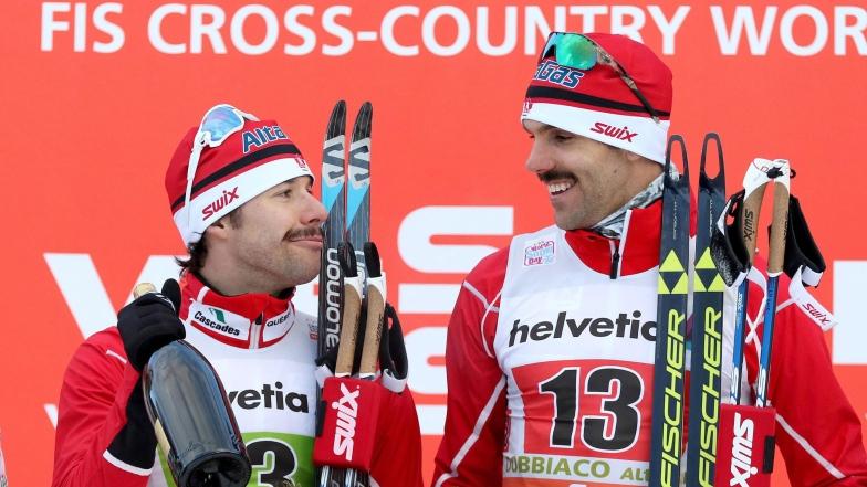 Alex Harvey et Len Valjas