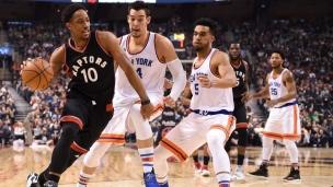 Knicks 101 - Raptors 116