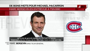 Bergevin fait le point
