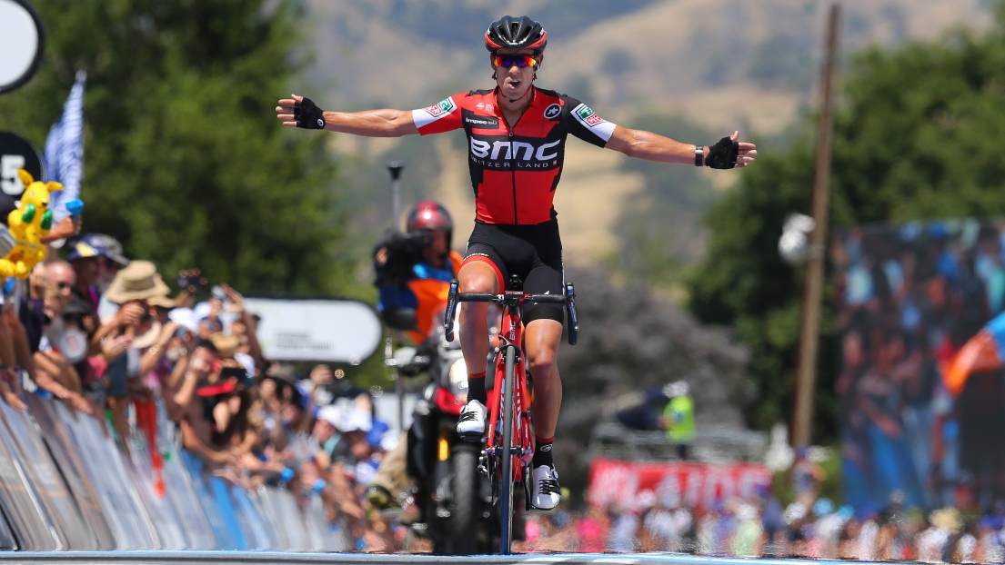 Richie porte bmc a remport en solitaire la 2e tape du for Richie porte and bmc