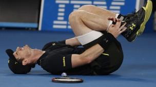 Murray avance malgré un faux pas