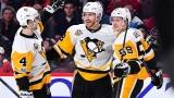 Les joueurs des Penguins