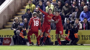 Plymouth 0 - Liverpool 1