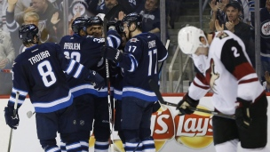 Coyotes 3 - Jets 6
