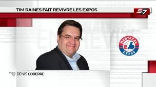Tim Raines fait revivre les Expos