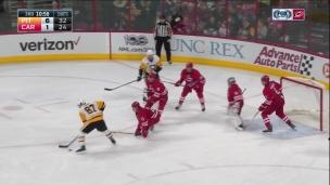 Sidney Crosby, les yeux derrière la tête!