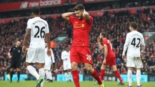 Liverpool 2 - Swansea 3