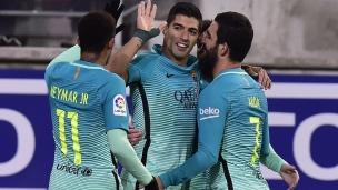 Eibar 0 - FC Barcelone 4