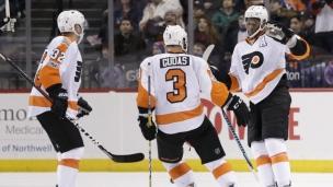 Flyers 3 - Islanders 2 (Prol,)