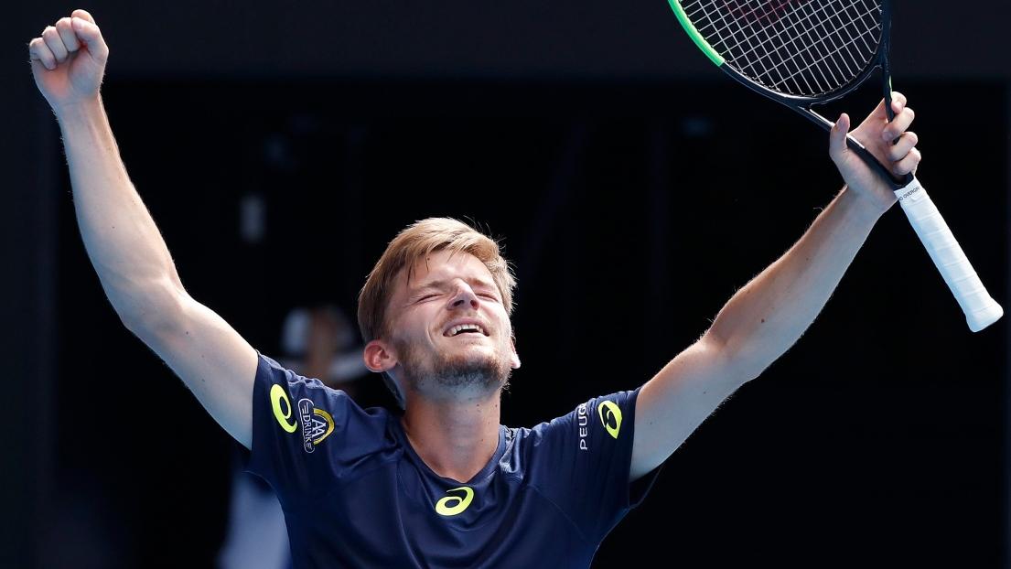 Goffin s'offre Djokovic et file en demi-finale à Monte Carlo